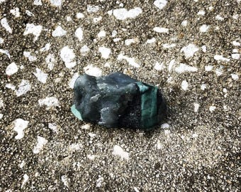 Rough Emerald (#2) – EXACT crystal shown (1) Reiki Charged