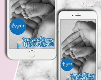 IT'S A BOY! GEOFILTER: Snapchat Geo-filter Custom, Snapchat Filter Custom Geofilter