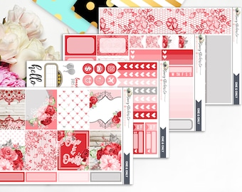 One & Only MINI KIT | Vertical Weekly Planner Sticker Kit for use with Erin Condren Lifeplanner™, Filofax, Personal, A5, Happy Planner