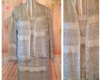 Vintage Damianou Silver 3 Piece Suit
