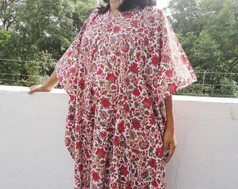 Floral Kaftan, Long Caftan,Maternity Robe, Delivery Gown, Birthing Gown, Long Robe Gown, Breast Feeding Dress, Hospital Gown, Pregnancy Gown