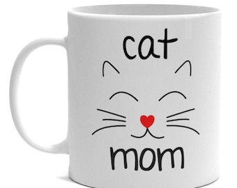 Cat Lover Gifts - Cat Mom Mug