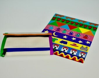 Design Your Own Wallet - Pack of 5 - Blank Canvas Wallet - Kids Birthday Party - Children's Party Favours