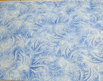 Ice Swirls Cotton Fabric from Timeless Treasures