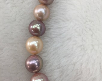 12-15mm high luster edison pearls