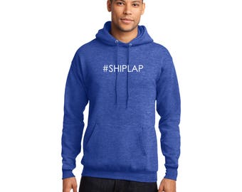 SHIPLAP Pullover Hooded Sweatshirt #SHIPLAP Fixer Upper Hoodie