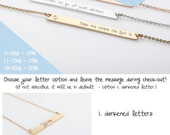 Silver Coordinates Necklace, Gold Personalized Childrens Name Jewellery, Nameplate Necklace, Rumal Numeral BFF, Bridesmaid Gift on a budget