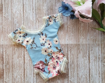 Newborn Romper, Baby Girl Romper, Romper, Photography Props, Newborn Props, Photo Props, Newborn Outfit, Infant Romper, Baby Photo Props