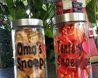 """Canister - """"Oma's/Tante's snoepjes"""""""