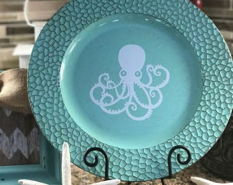 Decorative Octopus Charger Plate