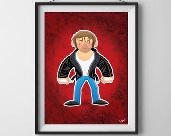Dean Ambrose - WWE Superstar Illustration