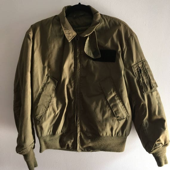 Vintage MA-1 aviator jacket
