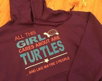 All This Girl Cares About Are Turtles ... And Maybe Like 3 People