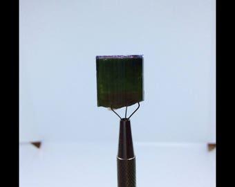 Beautiful 9.9 gram bi color Paprok tourmaline Crystal (2)