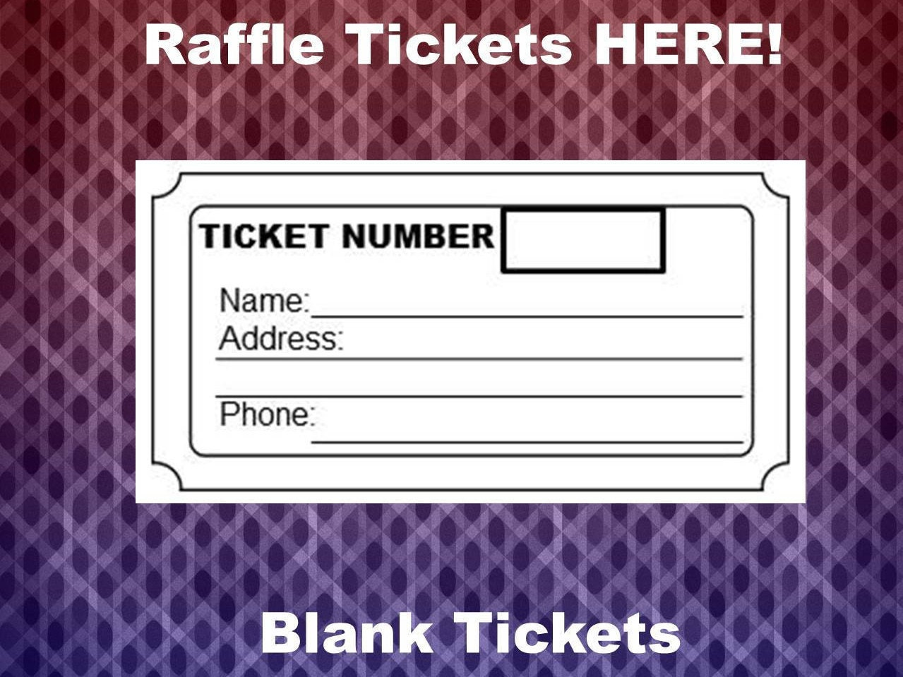 raffle ticket template 8 blank raffle tickets per page party