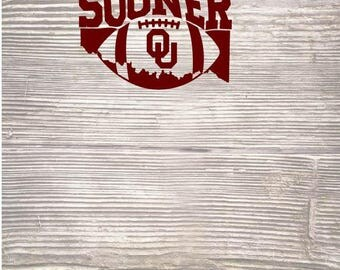 Boomer Sooner Oklahoma State SVG DXF Digital Cut File