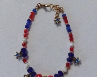 Vintage Sapphire Star Bracelet