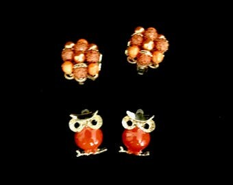 Set of Vintage Clip Earrings          VG2795