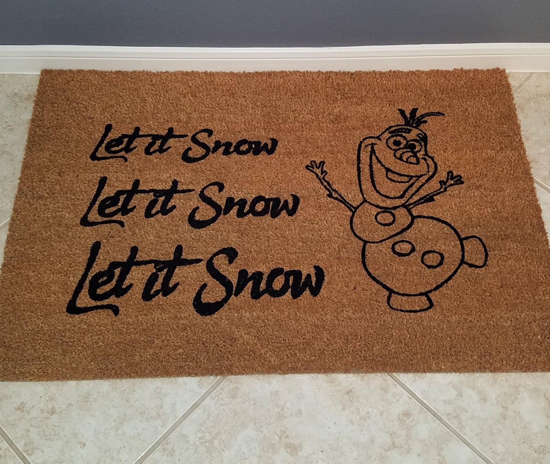 christmas gift door mats funny doormats holiday doormat. Black Bedroom Furniture Sets. Home Design Ideas