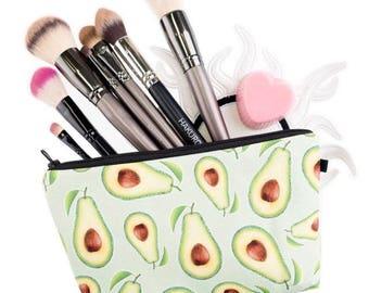 Avocado multipurpose pouch case