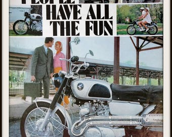 vintage honda motorcycle ads. 1966 honda motorcycle advertisement vintage ad ads