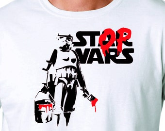 Stop Wars T Shirt. Limited Supply!!