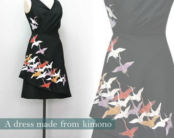 Kimono dress tomesode Japan
