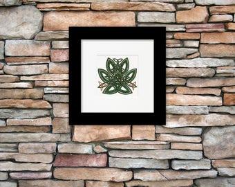 Celtic Wall Art celtic knot wall art | etsy