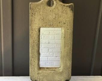 Reclaimed Wood Mirror, Rustic Mirror, Distressed Mirror, Decorative Mirror, Single Decorative Mirror