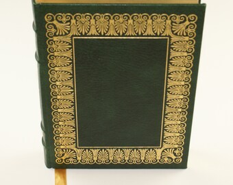Vintage 1979 Edition | Aristotle Politics and Poetics | Easton Press | 100 Greatest Books | Full Fine Leather Binding | Collector's Edition