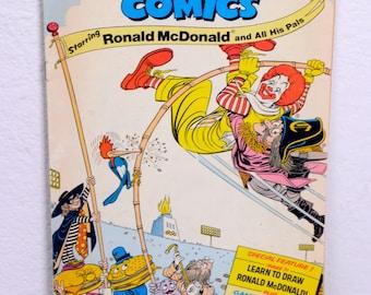 Ronald McDonald Comic Book 1976 No.102 Sponsored Comics