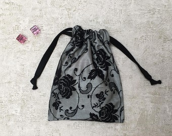sexy smallbags printed black lace - 2 sizes