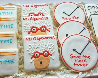 Back to the Future Cookies Party Favors
