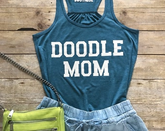 Doodle Mom Racerback
