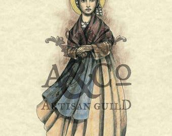 Saint Bernadette Soubirous Art Print