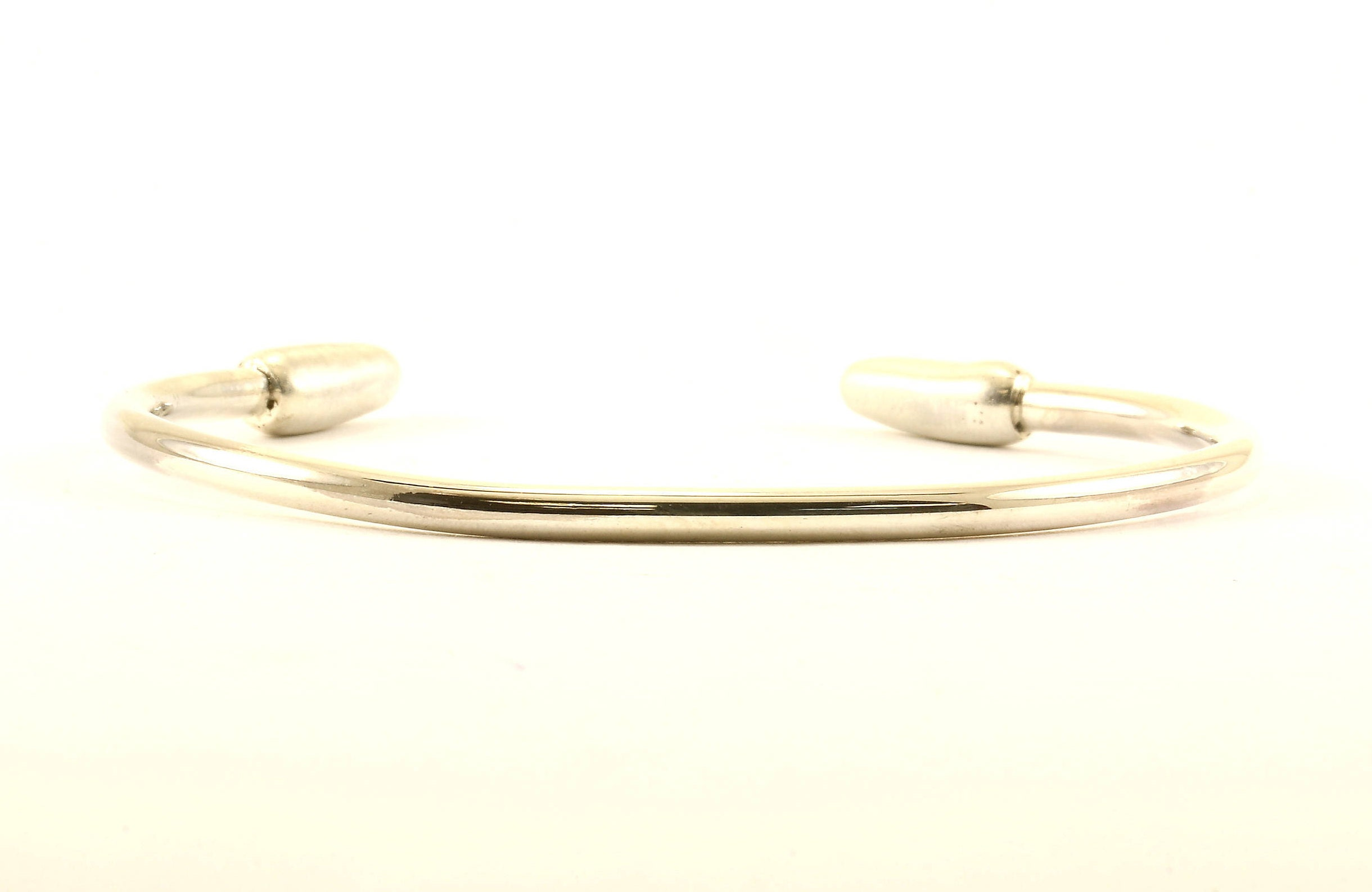 silverly plain stackable lasso products sterling design bangle bangles loop bracelets open silver hook womens bracelet catch