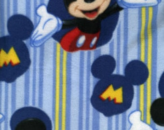 Mickey Framed Fleece Tied Blanket