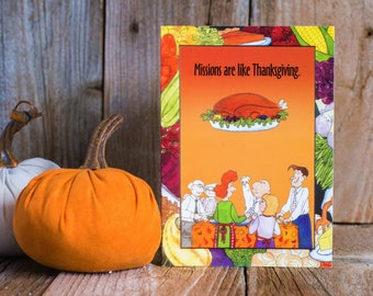 Missionary Thanksgiving Card