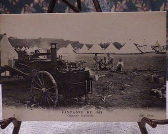 1914 real photo French postcard