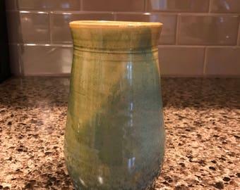 Wheel Thrown Ceramic Pottery Flower Vase