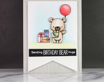 Sending Birthday Bear Hugs Card