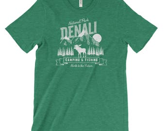 Denali National Park Adventure Unisex Bella Canvas Tshirt
