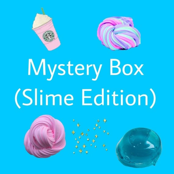 Squishy And Slime Mystery Box : Mystery box Slime Edition