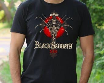 Black Sabath T-shirt Ozzy Osbourne shirt Black Sabath Tshirt mens Shirt Rock Tee Rock Heavy Metal T-shirt Dio t shirt