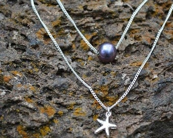Starfish necklace - necklace sea star