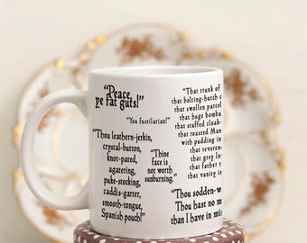 funny quote mug etsy. Black Bedroom Furniture Sets. Home Design Ideas