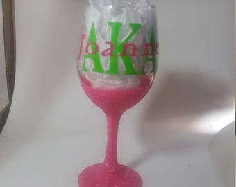 Sorority / Fraternity Personalized Glasses