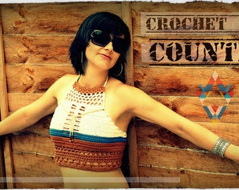 Summer Crochet Top COUNTRY
