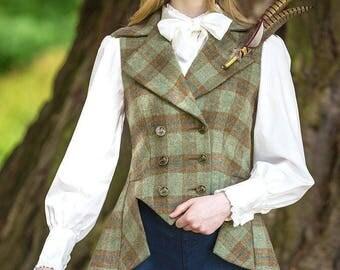 Lady Mary Waistcoat (Roseisle Tweed)