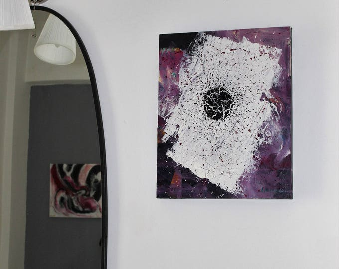 Cracking 50x40cm Original Abstract Painting